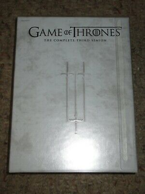 Game of Thrones: The Complete Third Season (DVD, 2014, 5-Disc Set) 3 3rd