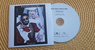 CD promo MADONNA feat MALUMA. MEDELLIN Rarissime clip version MADAME X OFFICIEL