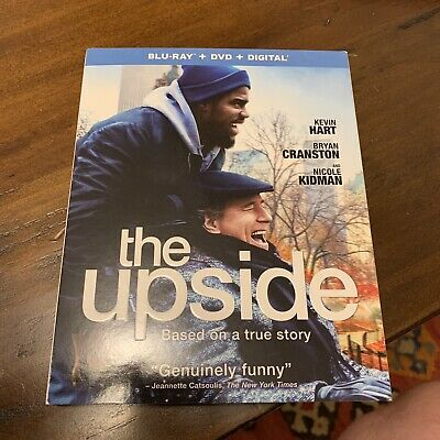The Upside (Blu-ray + DVD + Digital HD) - Kevin Hart, Bryan Cranston