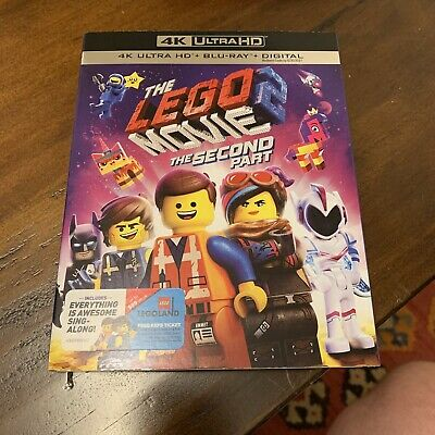 The LEGO Movie 2 The Second Part (4K Ultra HD + Blu-ray + Digital HD), Slipcover