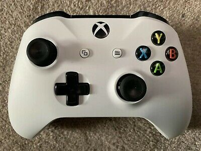 Official Microsoft Xbox One S Wireless Controller White Genuine 3.5mm Port