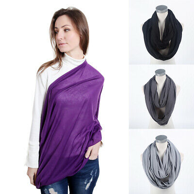 Soft Multi-use Nursing Scarf Baby Privacy Infant Convenient Breastfeeding Cover