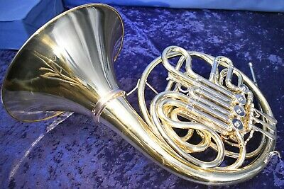 1965 Elkhart Conn 6DS (6D w/ Screw Bell) Double French Horn w/Case, Mouthpiece