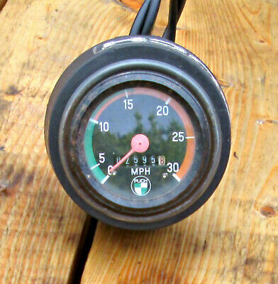 Puch Moped Speedometer OEM NICE SHAPE WORKS PERFECT VINTAGE MOPED
