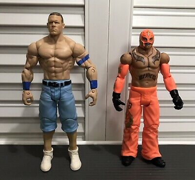 WWE Wrestling C3 Construction Stack Down Series John Cena Individual Minifigure