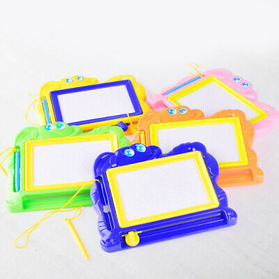 1Pc Kids Magnetic Drawing Board Erasable Writing Sketching Pad Educational Toys