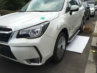 Aluminum Fit for Subaru Forester 2014-2017 Side Step Running Board Nerf Bar
