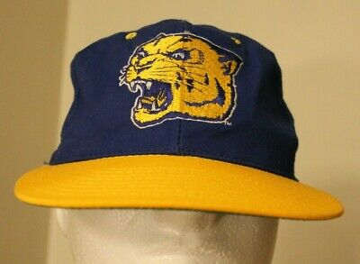 new style ead56 45db8 Vintage Pitt Panthers The Game 6 7 8 Fitted Hat 1990s