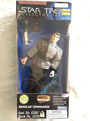 1996 Star Trek Collectors Edition Romulan Commander Action Figure