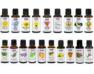 NOW Foods 1 oz Essential Oils and Oil Blends Your Choice!  - FREE SHIPPING!