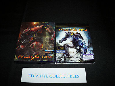 Pacific Rim (Blufans) 3-Disc Blu-Ray Steelbook + 4K UHD Edition [Sealed + Mint]