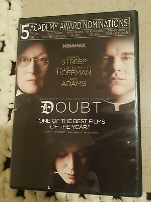 2009 Doubt DVD -Widescreen -Regn 1 -Meryl Streep -PS Hoffman-Adams**Read Below**