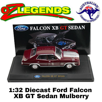Ford Falcon XB GT Sedan Mulberry 1:32 Diecast Model Car Collectable Licensed