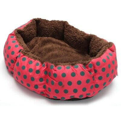 1X(Pet Dog Cat Bed Soft Nest Puppy Cushion Warm Kennel Mat Washable Winter Z8G3