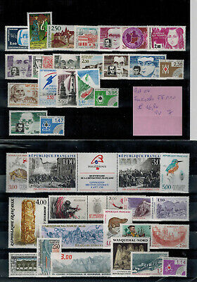 France lot (04) timbres neufs faciale +/- 110 FF € 16,80