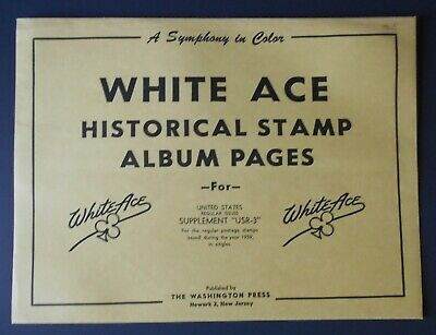 Older NEW White Ace Supplements; YOUR CHOICE of 1