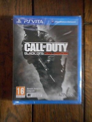 jeu ps vita call of duty black ops declassified neuf sous blister