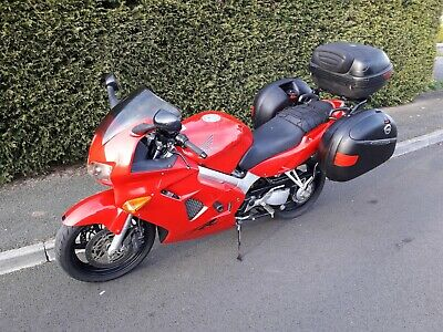 1998 Honda VFR800F, Red, Low mileage, 12m MOT, Touring Luggage Panniers