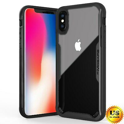 For iPhone XS Max XS XR X Case Heavy Duty Clear Slim Shockproof TPU Bumper Cover