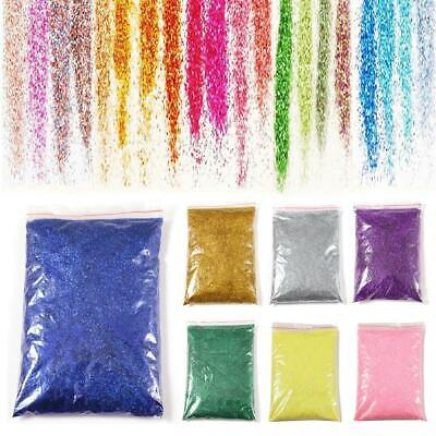 100g Glitter Holographic Iridescent Nail Art Wine Glass Crafts Decorating EA9 01