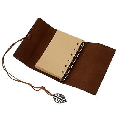 Vintage Classic Retro Journal Travel Leather Notepad Notebook Diary Memo S3