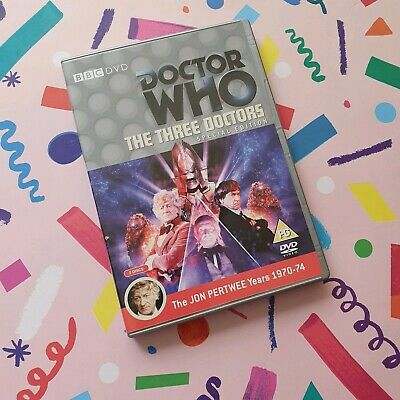 Doctor Who DVD The Three Doctors Special Edition