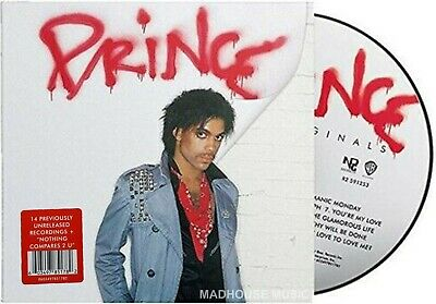 PRINCE CD Originals 15 Track Digi Pack w/ Hype Sticker + PROMO Sheet IN STOCK !