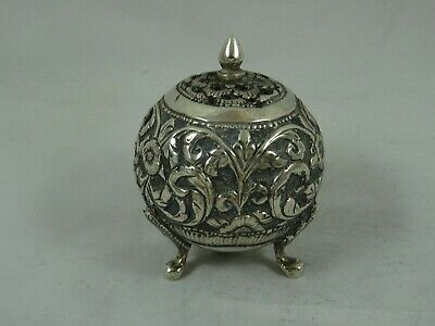 INDIAN solid silver PEPPER POT  c1900, 42gm