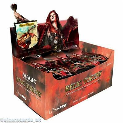 MTG - Magic: the Gathering Relic Commander Tokens Legendary Collection 1 Box x36