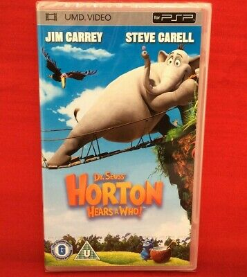 Dr Seuss Horton Hears A Who! UMD Sony PSP Video Movie 2008 New & Sealed