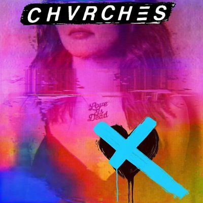Chvrches - Love Is Dead - CD Album (Released 25th May 2018) Brand New