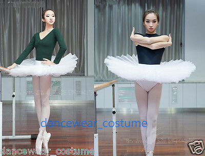 9835e4add Ladies Professional Ballet Costume Tutu 6Layers Hard Organdy Platter Skirt  Tutu