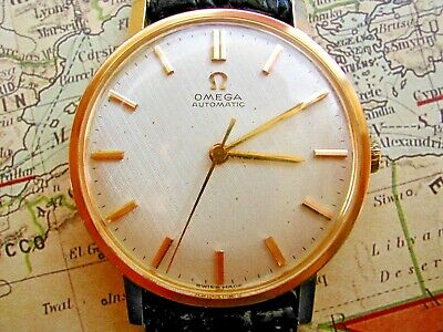 Omega Automatic, Superb Waffle Dial Gentleman's, Serviced Caliber 552. 1963.