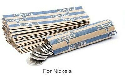 Nickel Coin Wrapper 20 Ct. Twenty Individual Wrappers for Change LOW PRICE