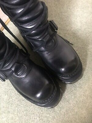 New Rock Reactor boots knee high size 4 worn twice. Retails at £200! Goth, Punk