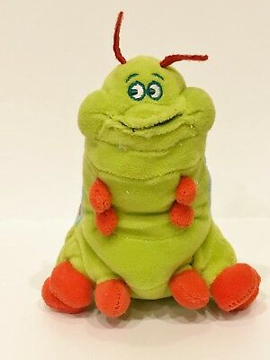 "Walt Disney World A Bug's Life Disney Pixar Heimlick Plush 8"" Caterpillar"