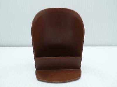 Tupperware 292 Brown Rocker Scoop for Canister or Modular Mate Containers