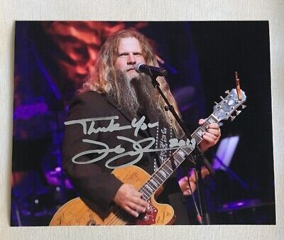 Country Music Superstar Jamey Johnson Signed Autographed 8x10 Photo *SALE*
