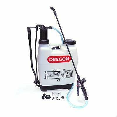 Oregon 518771 Knapsack Backpack Pressure Garden Weed Killer Sprayer with Lance a