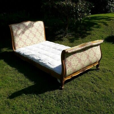 antique French single bed