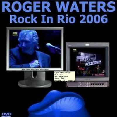 ROGER WATERS – LIVE ROCK IN RIO, LISBOA, PORTUGAL, 2 june 2006 (DVD)