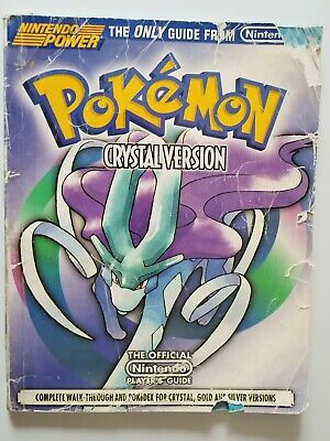 Official Nintendo Power Pokemon Crystal Player's Guide. Free Shipping.