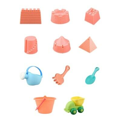 1X(Children'S Dredging Water Toys 11 Sets Of Beach Tools Multi-Piece Suits X5D6)