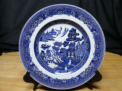 JOHNSON BROTHERS WILLOW DESIGN 1 Salad Plate and 3 Bread and Butter Plates