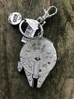 Disney Parks Star Wars Millennium Falcon Keychain New with Tags 2019