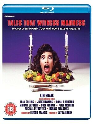 Tales That Witness Madness Blu Ray NEW/SEALED