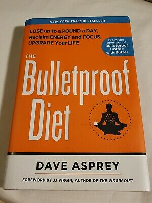 The Bulletproof Diet : Hardcover Book~$26.99•Super Fast Ship! Used: Like New!~