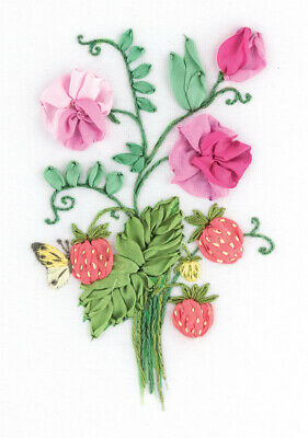 Embroidery Kit Living Picture The Charms of Summer JK-2136