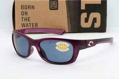 51d9faf51 COSTA DEL MAR TREVALLY SUNGLASSES Matte Orchid / Grey 580p Polarized lens  Womens
