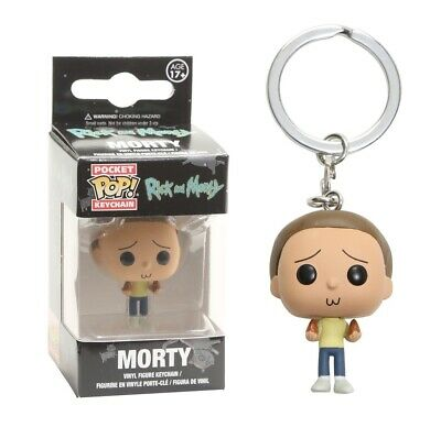 Morty Smith Funko Pop Rick and Morty Vinyl Figure Keychain